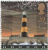 Lighthouse stamp.