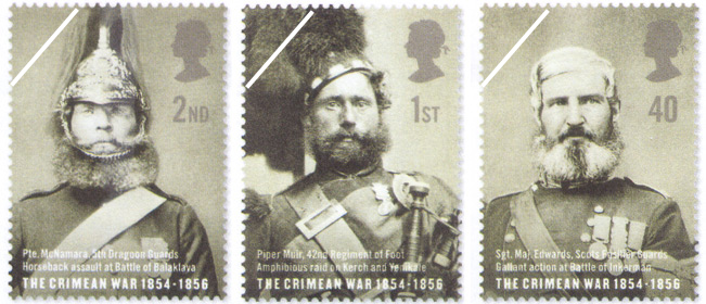 Great Britain Stamps 150th Anniversary Of The Crimean