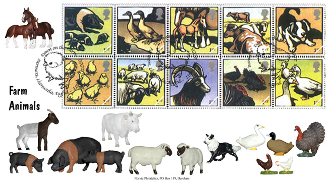 Pictures of Animal stamps
