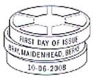 Bray, Maidenhead FDI postmark.