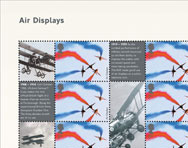Portion of Air Displays Smilers Sheet.