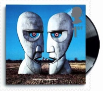 The Division Bell by Pink Floyd stamp to be issued 7 January 2010.