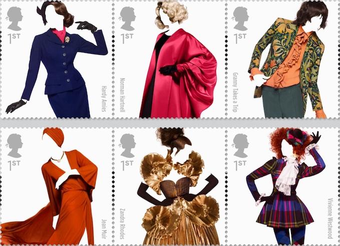 Great British Fashion British Stamps 15 May 2012