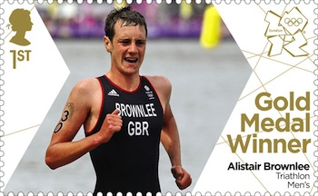 Olympics 2012 Gold Medal Winners Great Britain Stamps