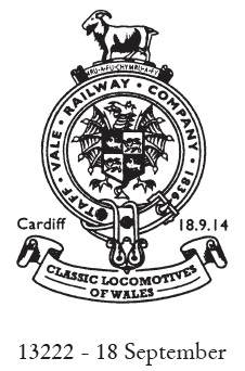 BAdge of the Taff Vale Railway Co.