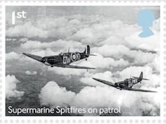 Battle of Britain 1st class stamp.