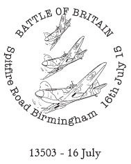 Battle of Britain postmark.
