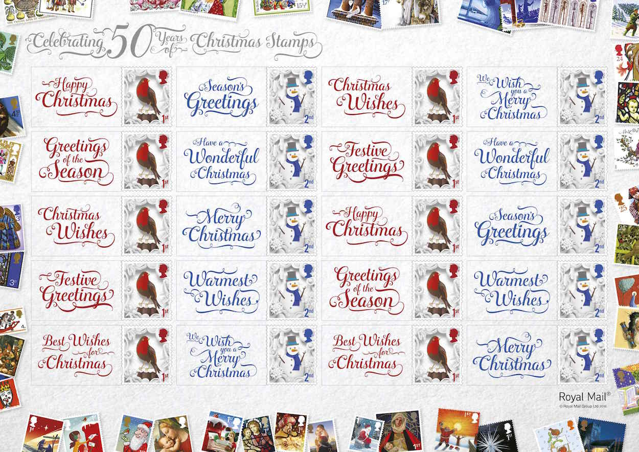 Christmas 2016 stamps of great britain 8 november 2016 from norvic christmas 2016 generic smilers sheet m4hsunfo