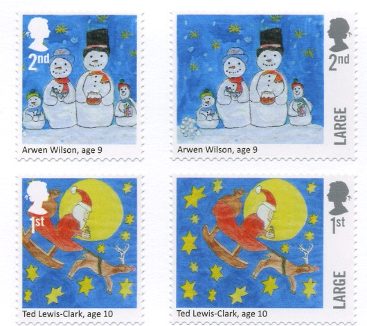 2017 Christmas Competition Stamps