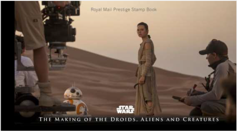 Star Wars The Force Aawakens Stamp Issue 20 October 2015