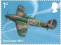 Hawker Hurricane fighter.