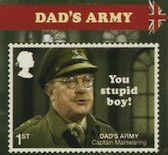 Dad's Army booklet stamp.