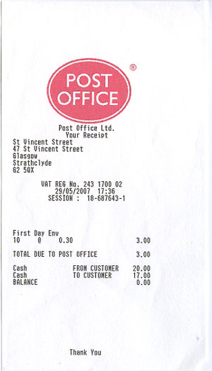 Expressexpense custom receipt maker online receipt template tool - Sa post office tracking number ...