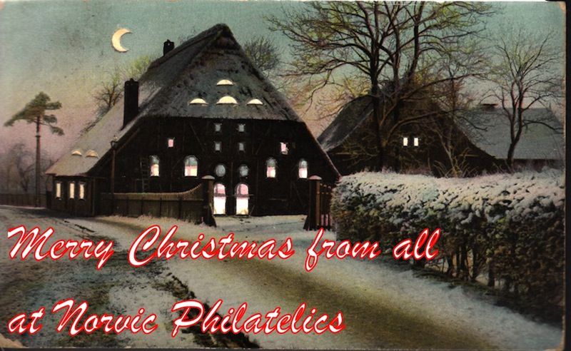 Merry Christmas from Norvic Philatelics.