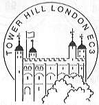 postmark showing The Tower of London.