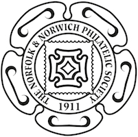 Norfolk & Norwich Philatelic Society logo.
