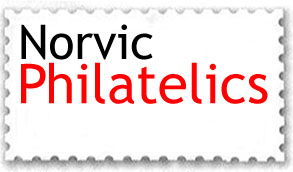 Norvic Philatelics logo.