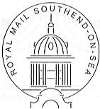 postmark showing Southend on Sea Kursaal.