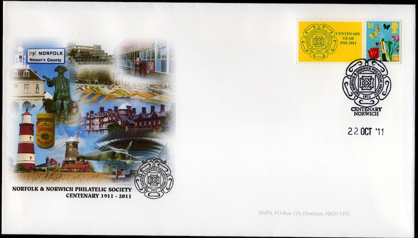 NNPS Centenary Commemorative Cover - Smiler.