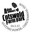 Postmark showing Cotswold Farm Park logo.