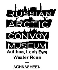 Postmark with logo of Russian Arctic Convoy Museum.
